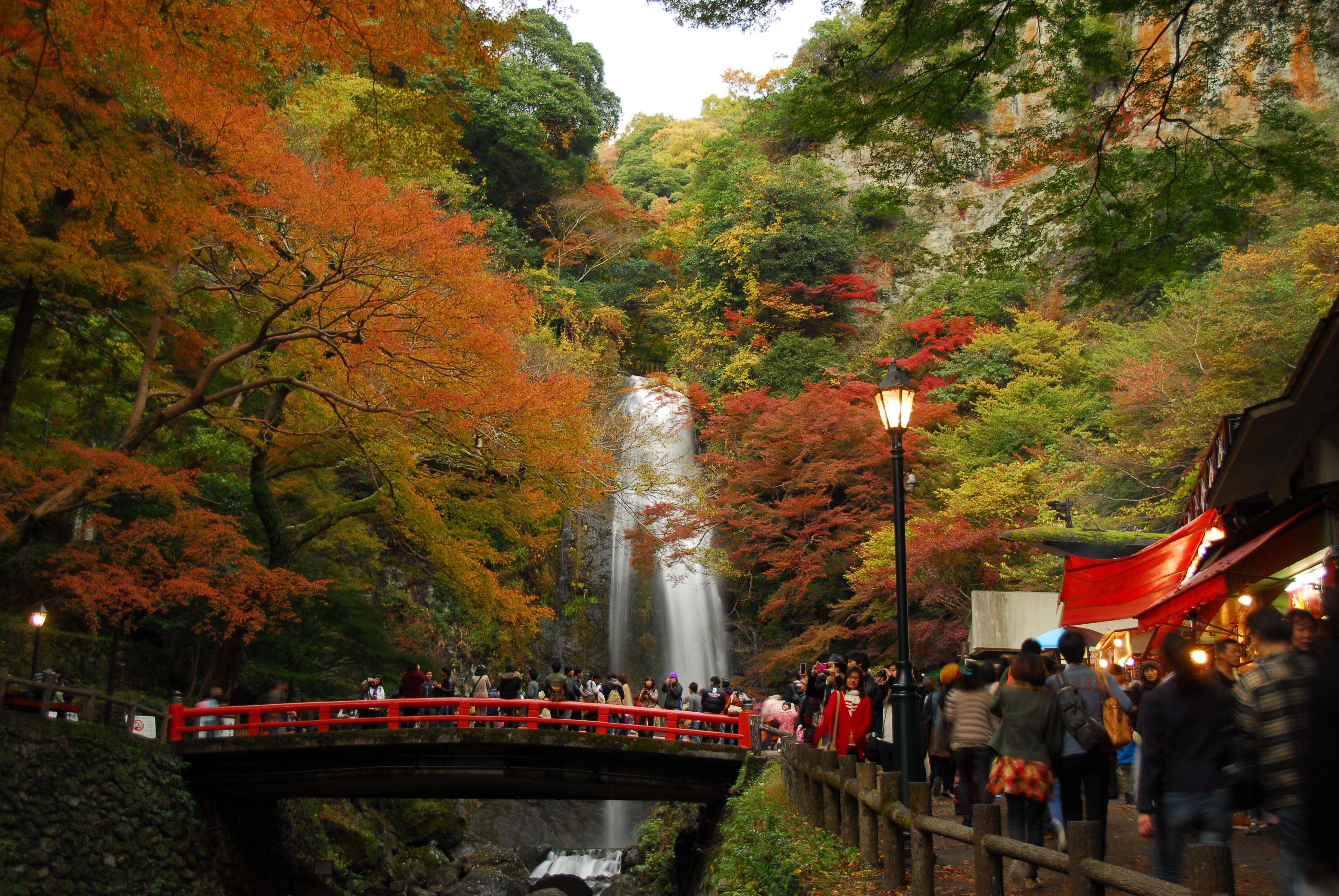 箕面の滝ハイキング婚活のイメージ画像|大阪で婚活イベント(婚活パーティーや趣味コン)なら一期一会